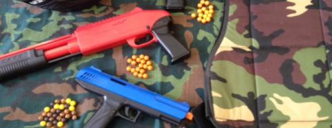 Mini Paintball We Now Cater For 8 Year Old Children and Above