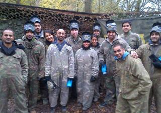paintballing leicester