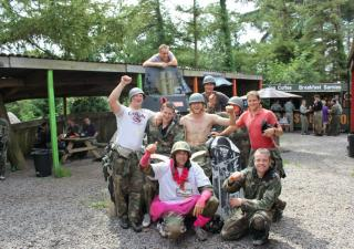 Stag Do Paintball Bristol